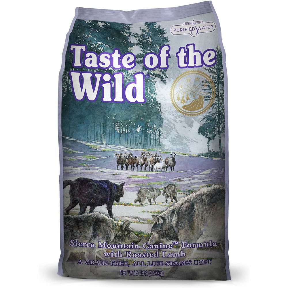 Taste Of The Wild - Sierra Mountain Grain-Free Dry Dog Food