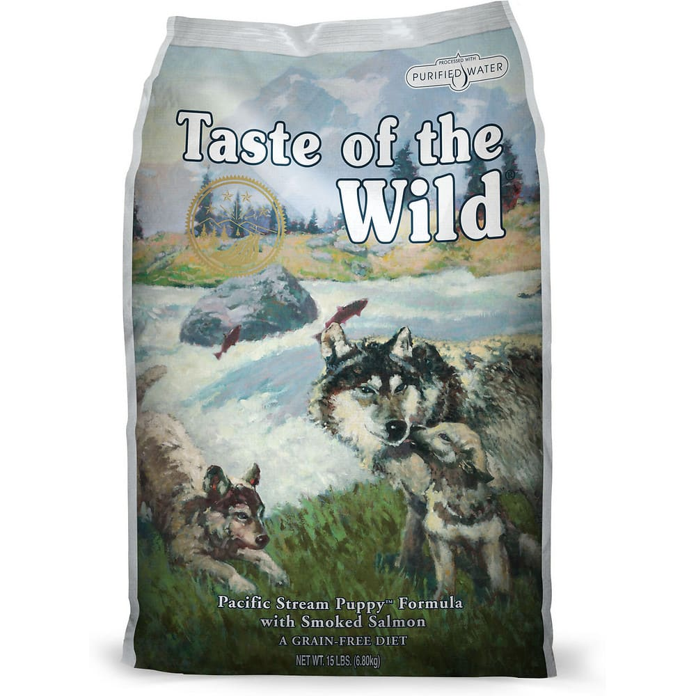 Taste Of The Wild - Pacific Stream Puppy Grain-Free Dry Dog Food