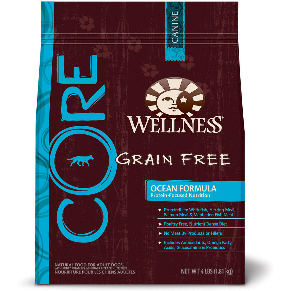 Wellness - CORE Ocean Recipe Grain-Free Dry Dog Food, 22lb