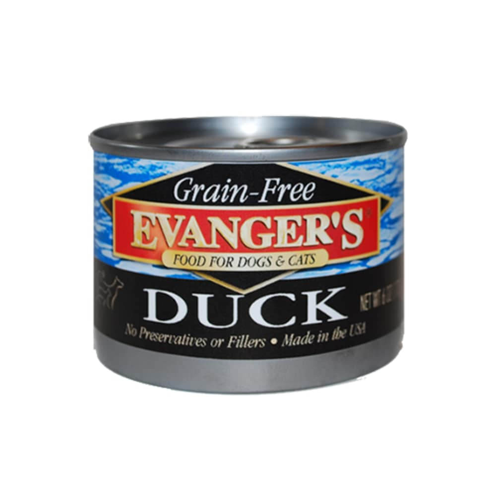 Evanger's - Duck Grain-Free Canned Dog/Cat Food
