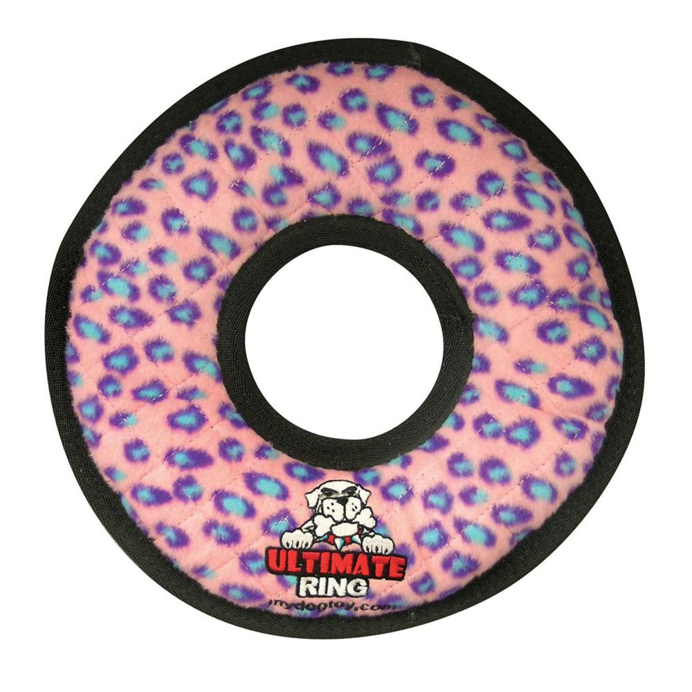 VIP Products - Tuffy Jr Pink Rumble Ring Dog Toy