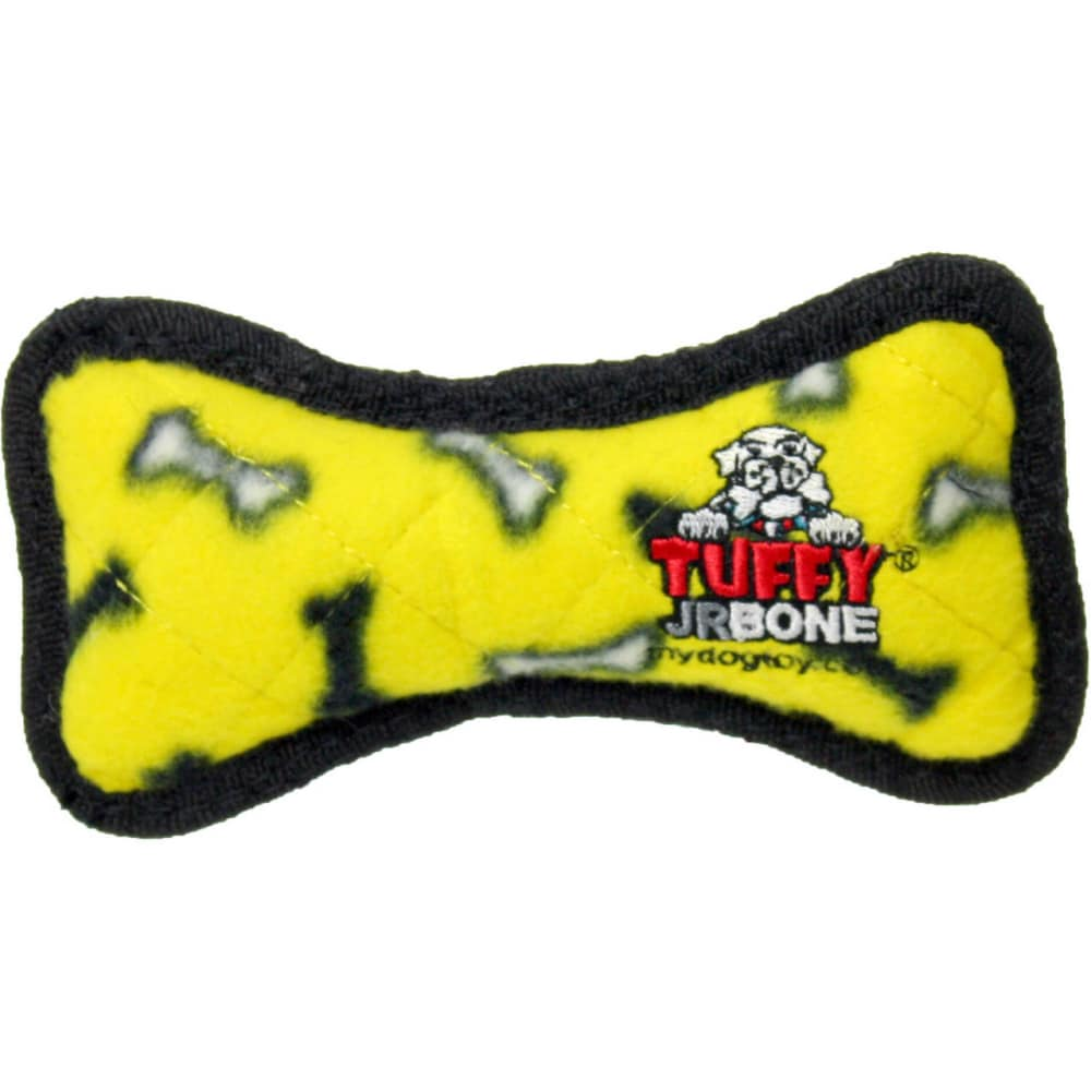 VIP Products - Tuffy Yellow Bone Dog Toy, 6.5In