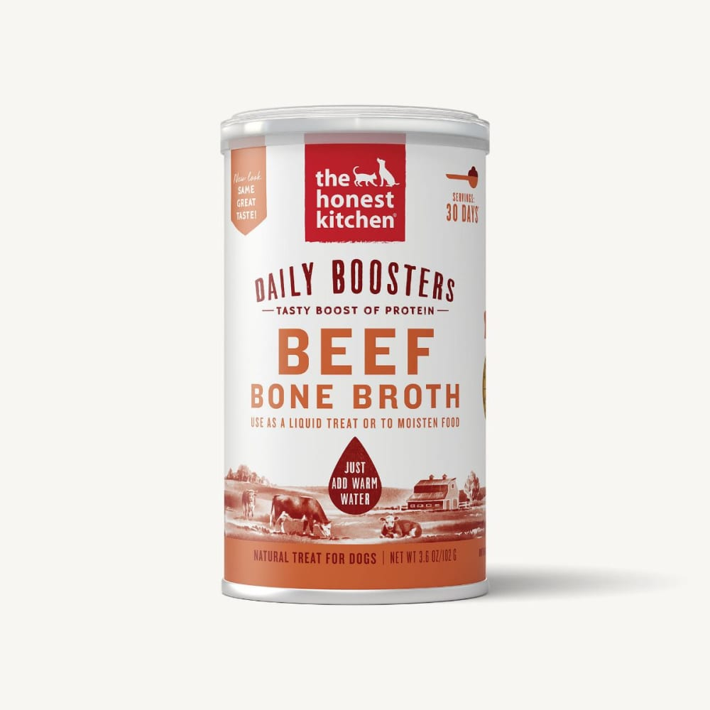 Honest Kitchen - Bone Broth with Tumeric Spice Dog & Cat Treat, 5oz