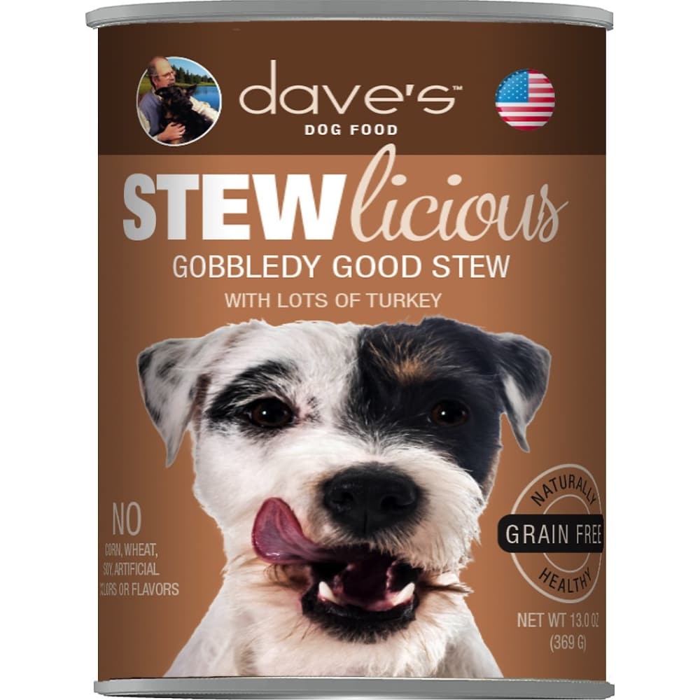 Dave's Pet Food - STEWlicious Gobbledy Good Stew Grain-Free Canned Dog Food