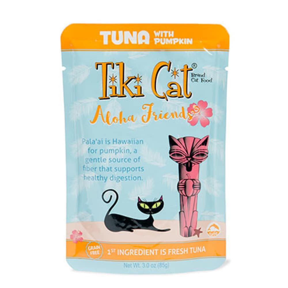 Tiki Cat - Aloha Friends Tuna With Pumpkin Grain-Free Cat Food Pouch