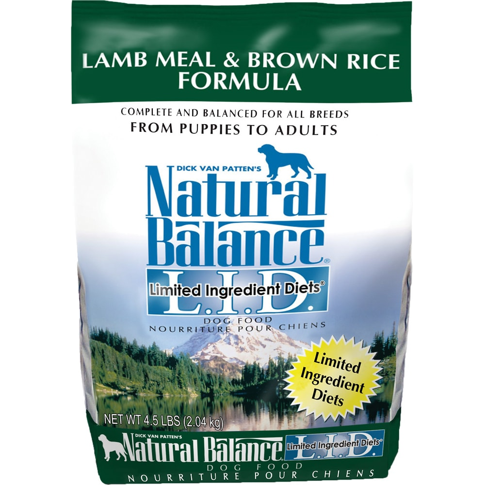 Natural Balance - Limited Ingredient Diets Lamb Meal & Brown Rice Formula Grain-Free Dry Dog Food