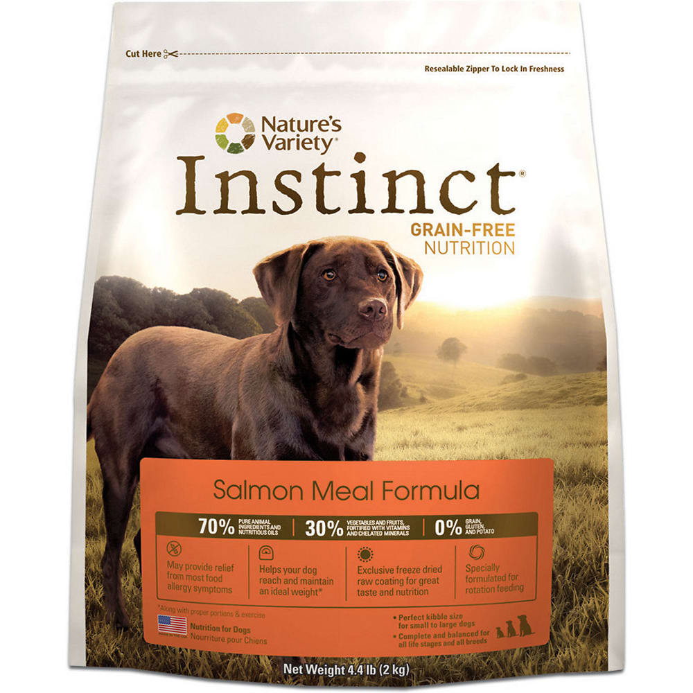 Natures variety instinct original real salmon formula grain free dr natures variety instinct original real salmon formula grain free dry dog food forumfinder Image collections