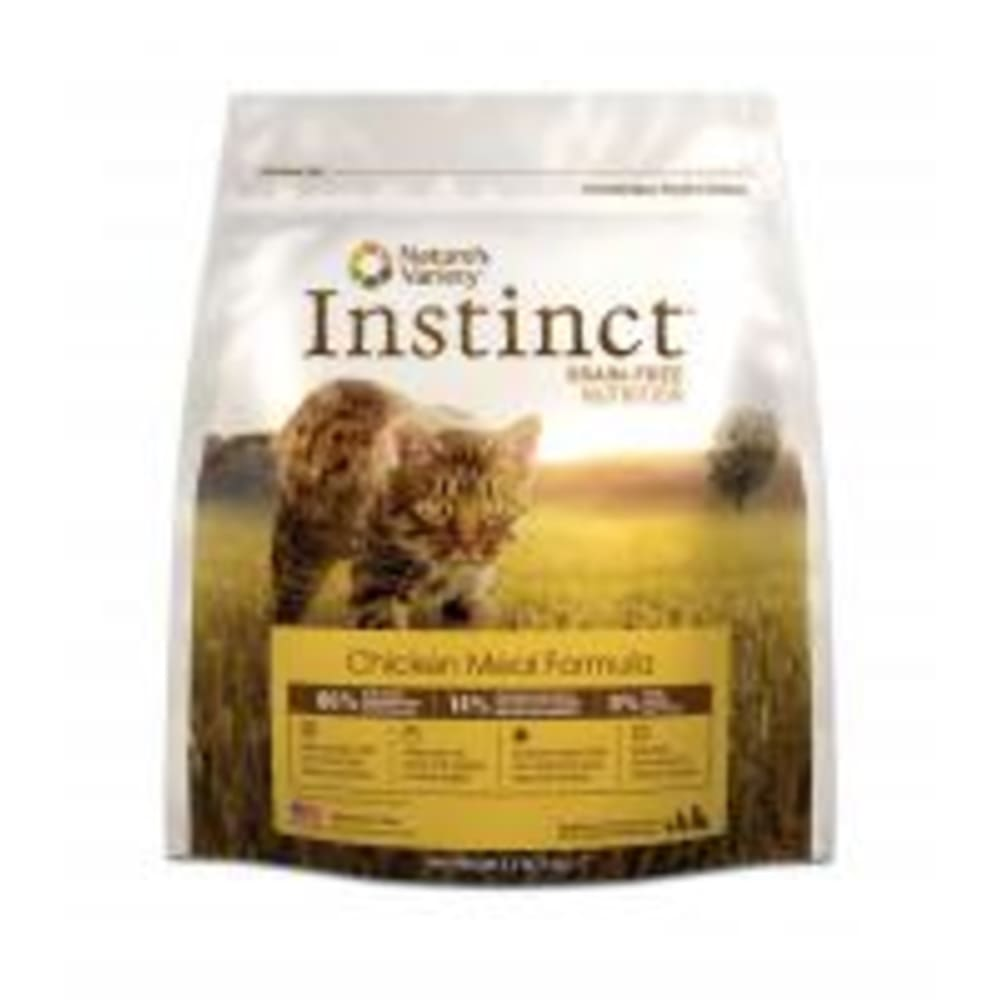 Nature's Variety - Instinct Original Real Chicken Formula Grain-Free Dry Cat Food, 11lb