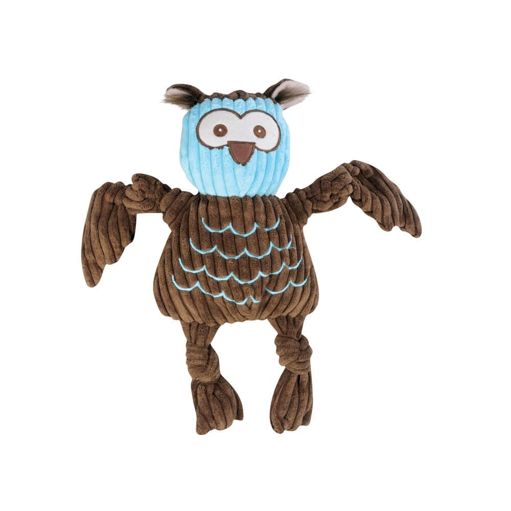 HuggleHounds - Woodland Knottie Owl Dog Toy, Large