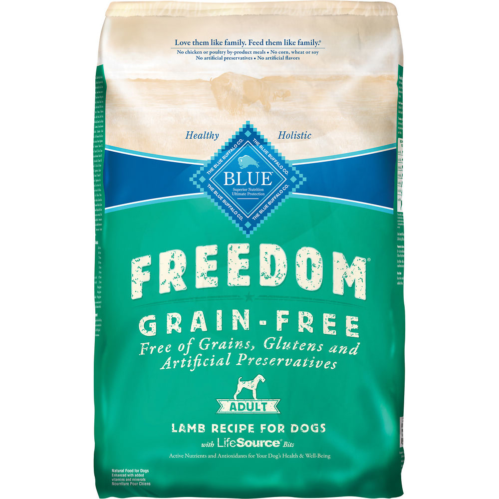 Blue Buffalo - Freedom Lamb Recipe Grain-Free Dry Dog Food, 24lb