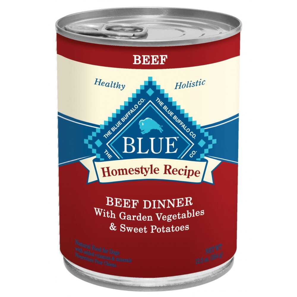 Blue Buffalo - Homestyle Recipe Beef Dinner Canned Dog Food
