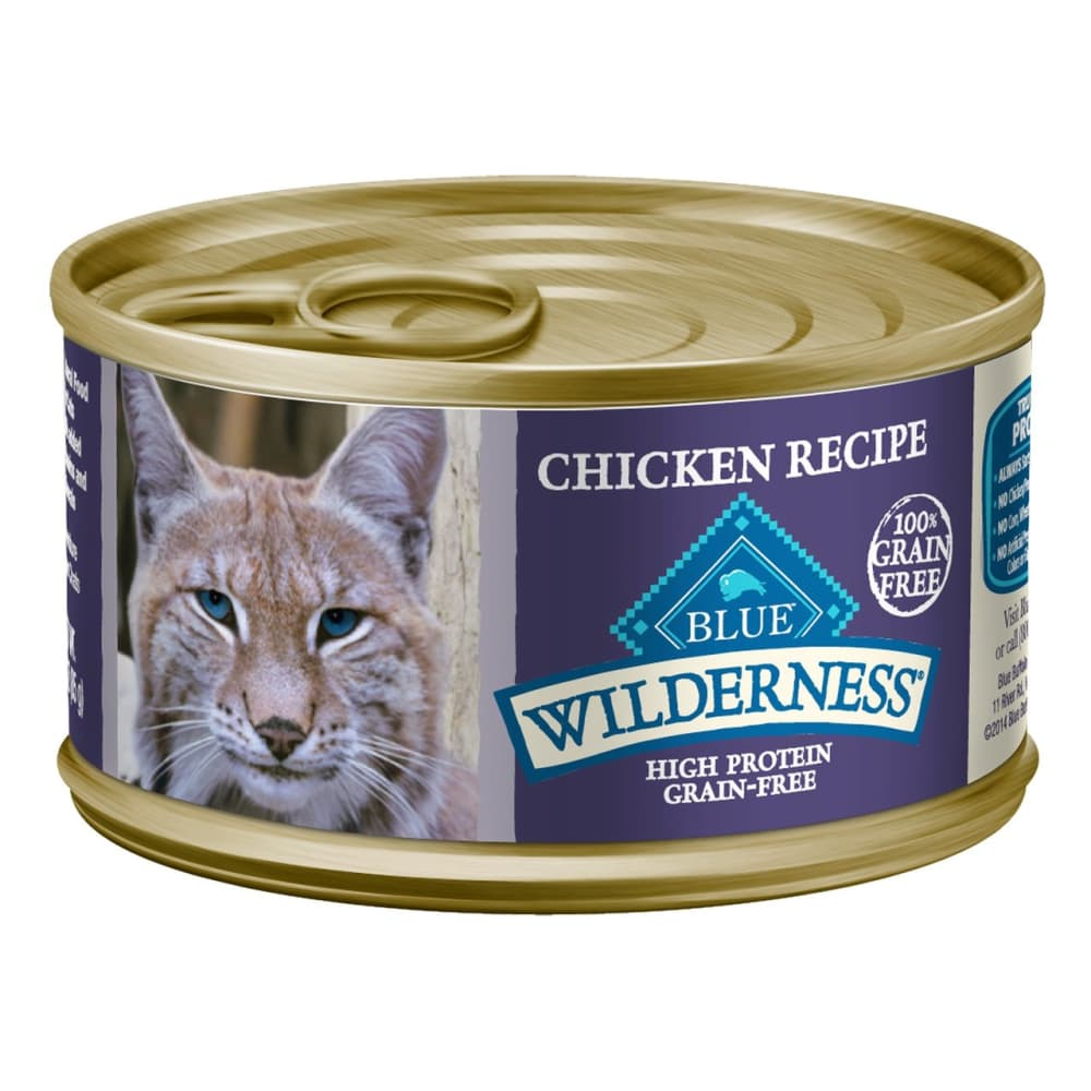 Blue Buffalo - Wilderness Chicken Recipe Grain-Free Canned Cat Food