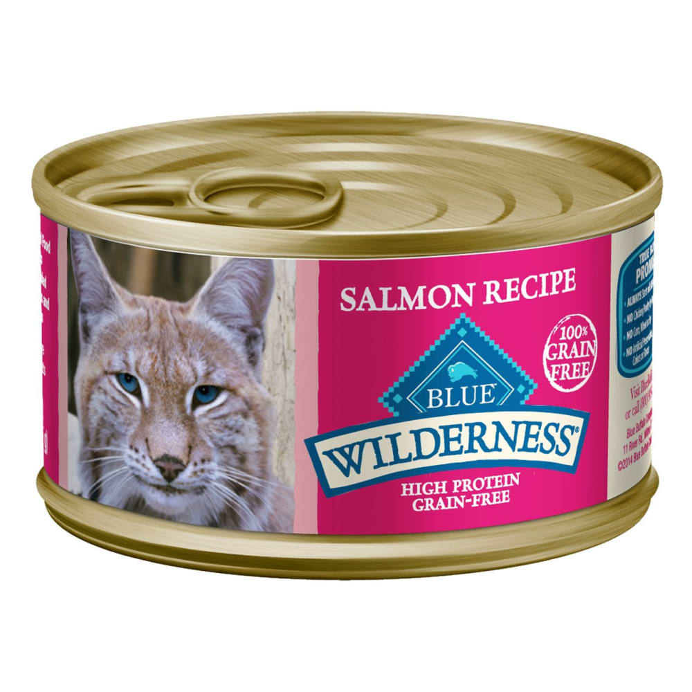 Blue Buffalo - Wilderness Salmon Recipe Grain-Free Canned Cat Food