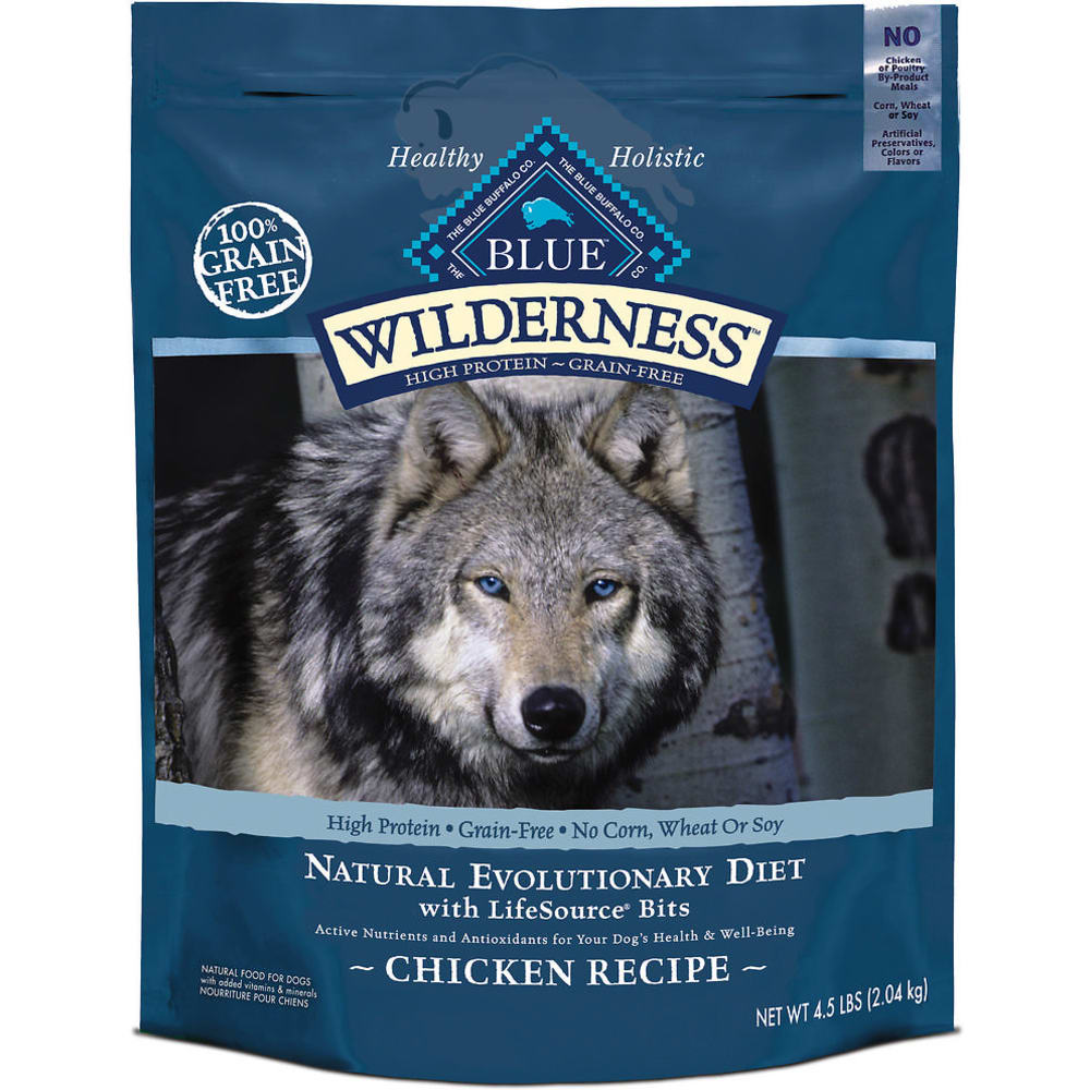 Blue Buffalo - Wilderness Chicken Recipe Grain-Free Dry Dog Food