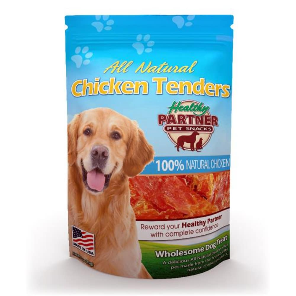 Healthy Partner - All Natural Chicken Tenders Grain-Free Dog Treat, 3oz