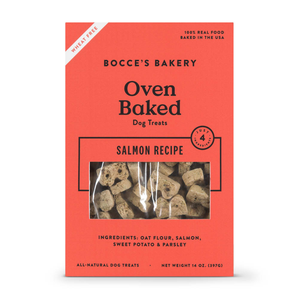 Bocce's Bakery - All Natural Salmon Buscuits Dog Treats, 14oz