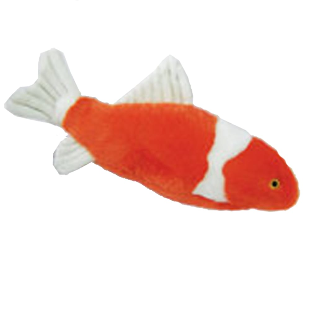 Fluff & Tuff - Finn Koi Durable & Ultra Plush Dog Toy, 16in