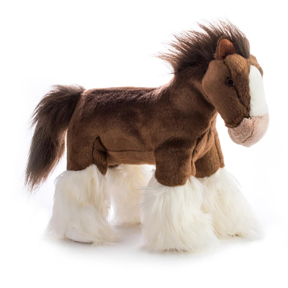 Fluff & Tuff Clyde The Horse Dog Toy, Large