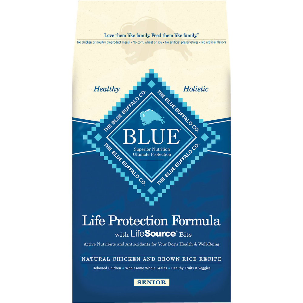 Blue Buffalo - Life Protection Formula Senior Chicken & Brown Rice Recipe Dry Dog Food