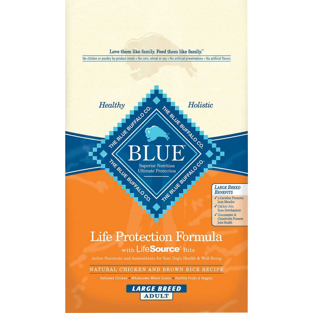 Blue Buffalo - Life Protection Formula Chicken & Brown Rice Large Breed Recipe Dry Dog Food