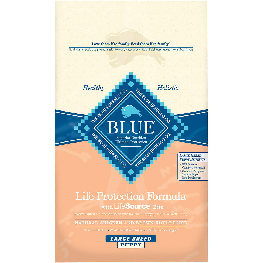 Blue Buffalo - Life Protection Formula Large Breed Puppy Chicken & Brown Rice Recipe Dry Dog Food