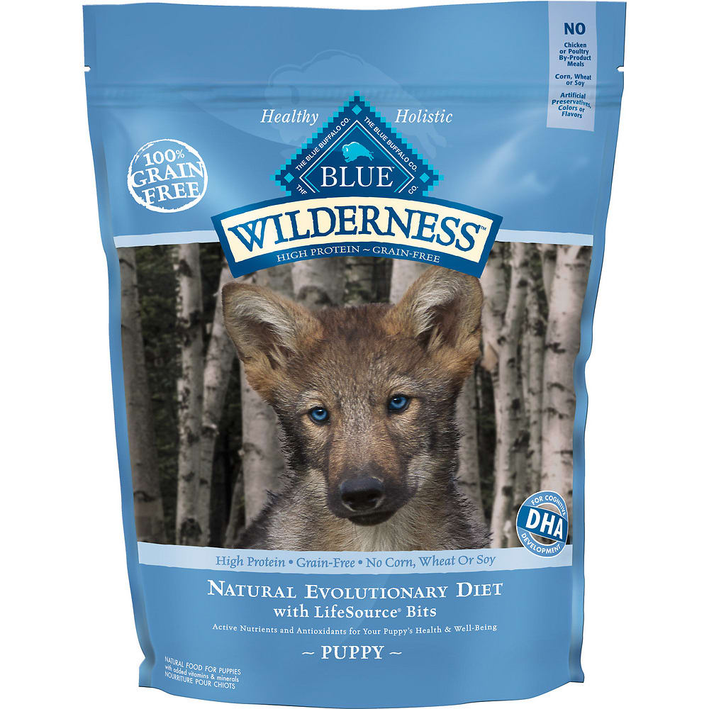 Blue Buffalo - Wilderness Puppy Chicken Recipe Grain-Free Dry Dog Food