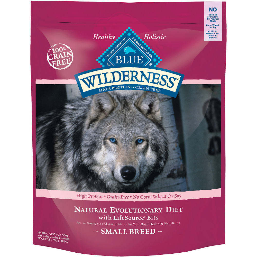 Blue Buffalo - Wilderness Adult Small Breed Chicken Recipe Grain-Free Dry Dog Food