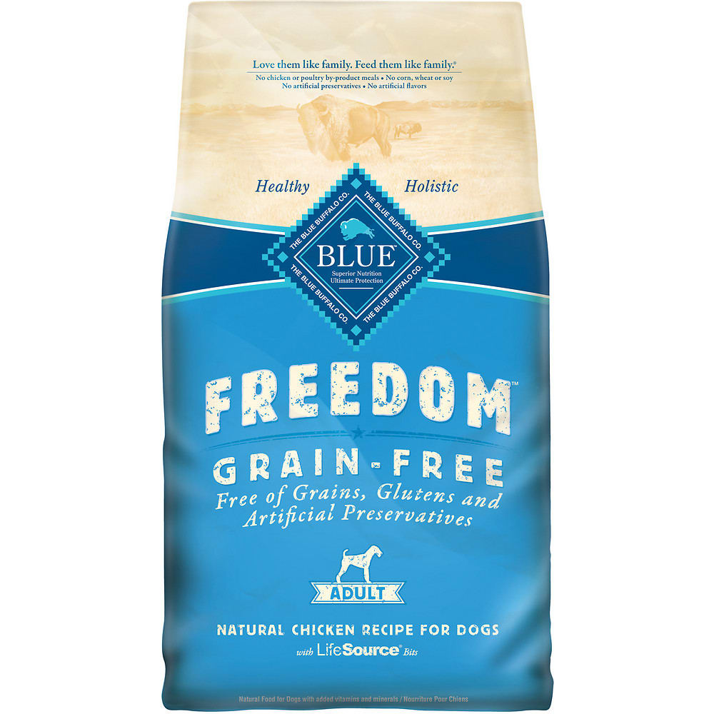 Blue Buffalo - Freedom Chicken Recipe Grain-Free Dry Dog Food