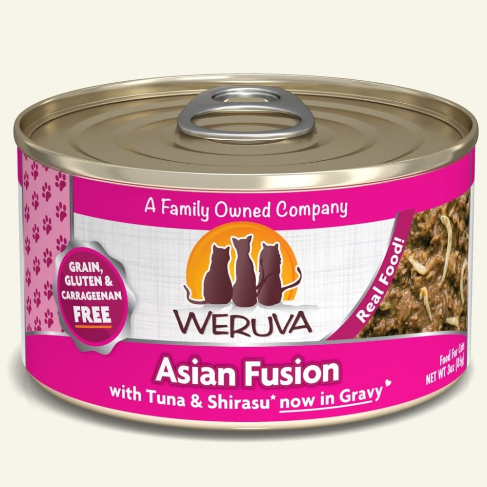 Weruva - Asian Fusion With Tuna & Japanese Anchovy In Aspic Grain-Free Canned Cat Food
