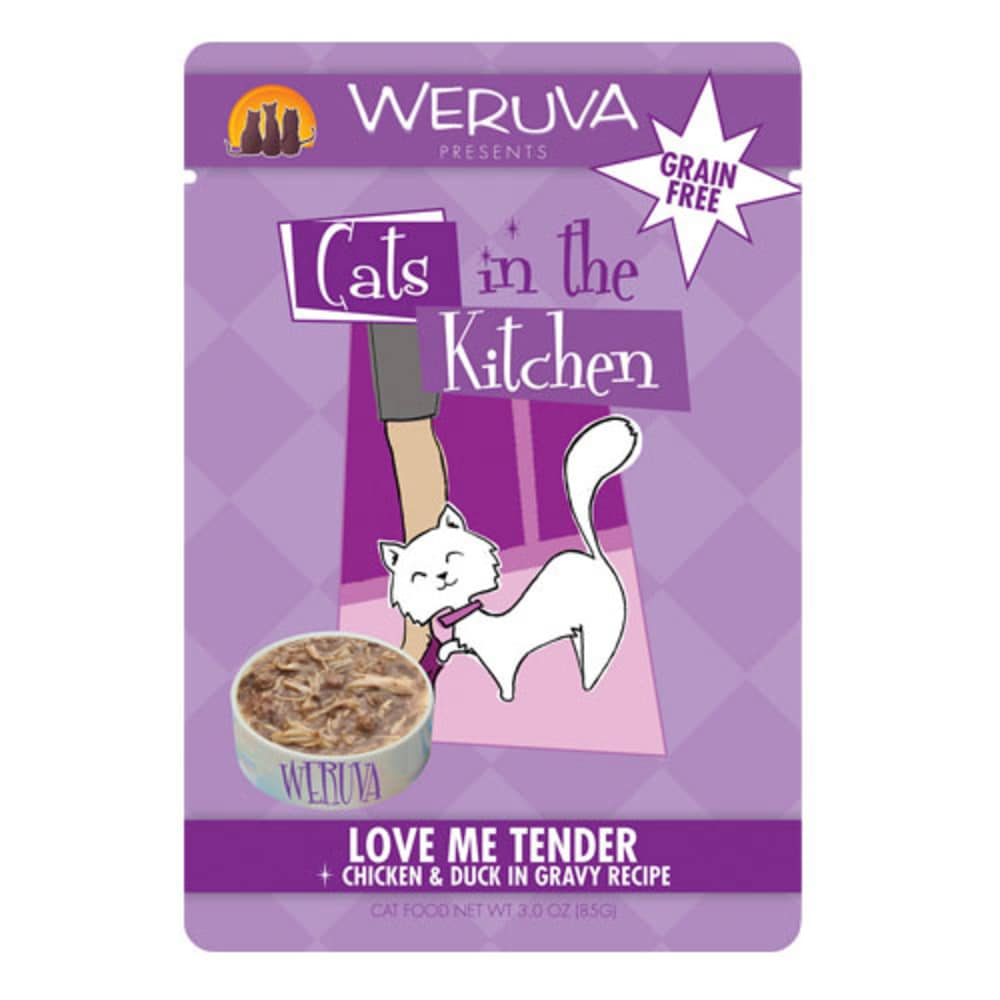 Weruva - Cats In The Kitchen Love Me Tender Grain-Free Cat Food Pouch