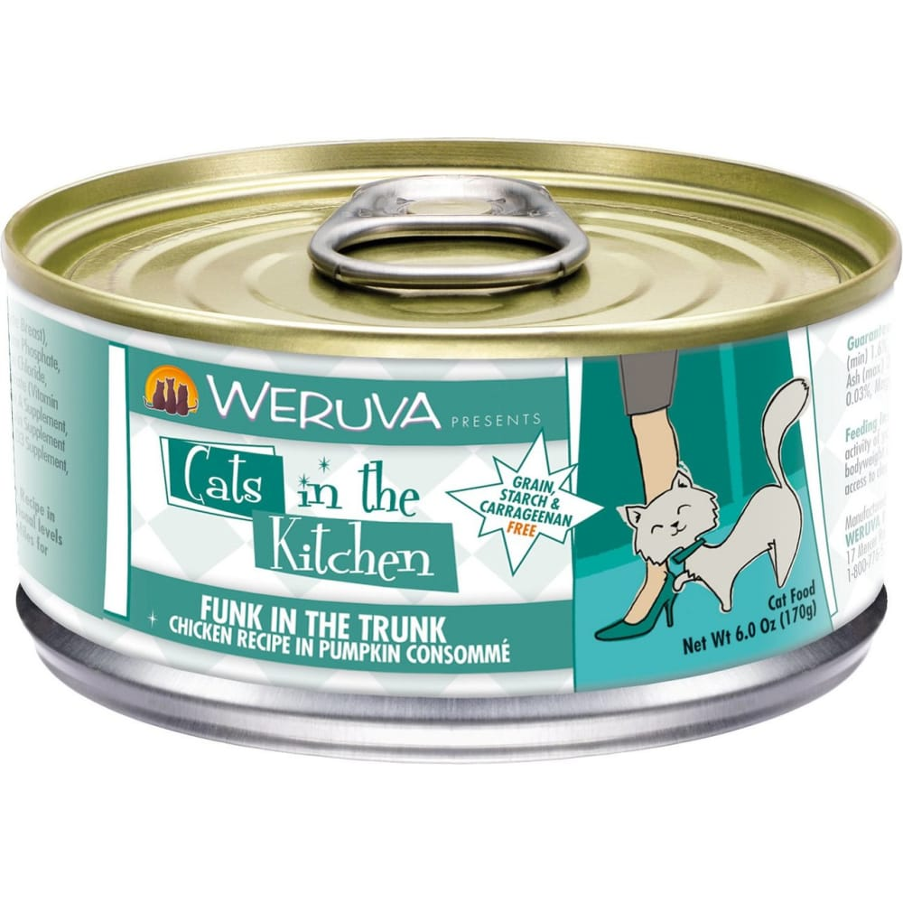 Weruva - Cats In The Kitchen Funk In The Trunk Grain-Free Canned Cat Food