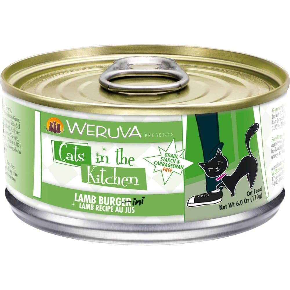 Weruva - Cats In The Kitchen Lamb Burgini Grain-Free Canned Cat Food