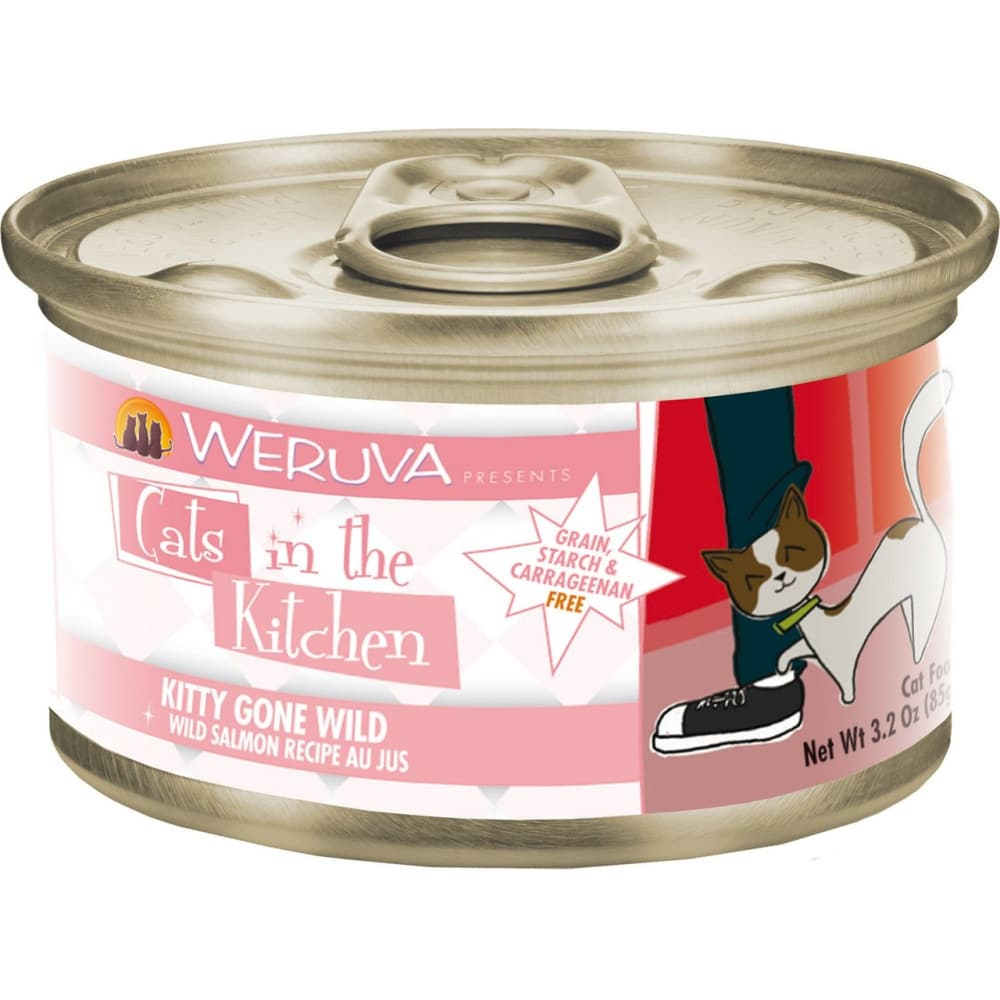 Weruva - Cats In The Kitchen Kitty Gone Wild Grain-Free Canned Cat Food