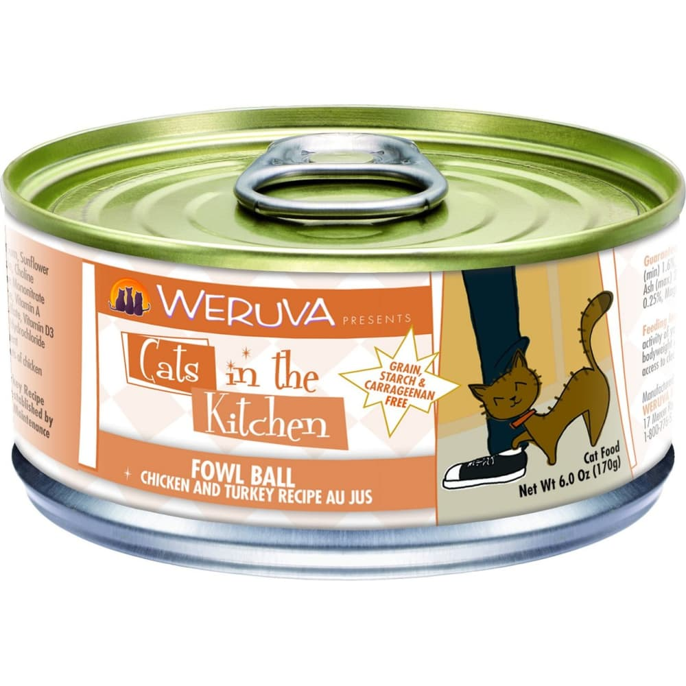 Weruva - Cats In The Kitchen Fowl Ball Grain-Free Canned Cat Food