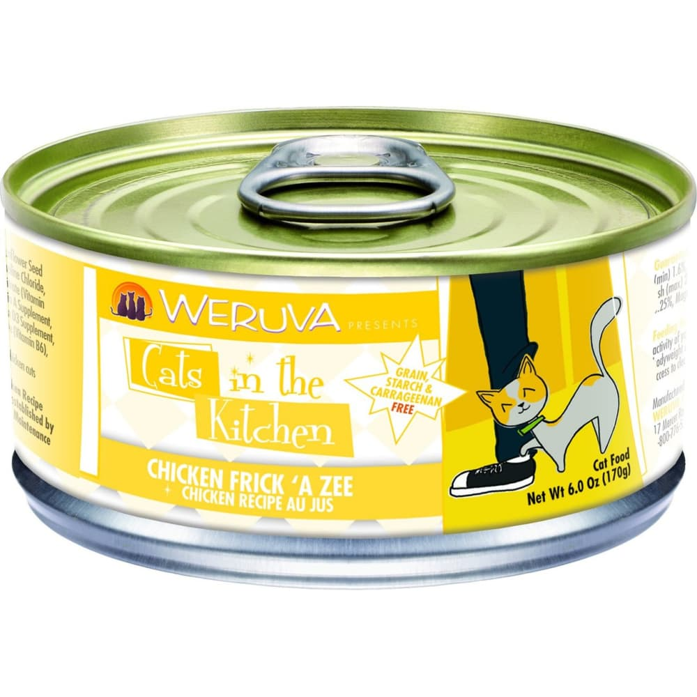 Weruva - Cats In The Kitchen Chicken Frick 'A Zee Grain-Free Canned Cat Food