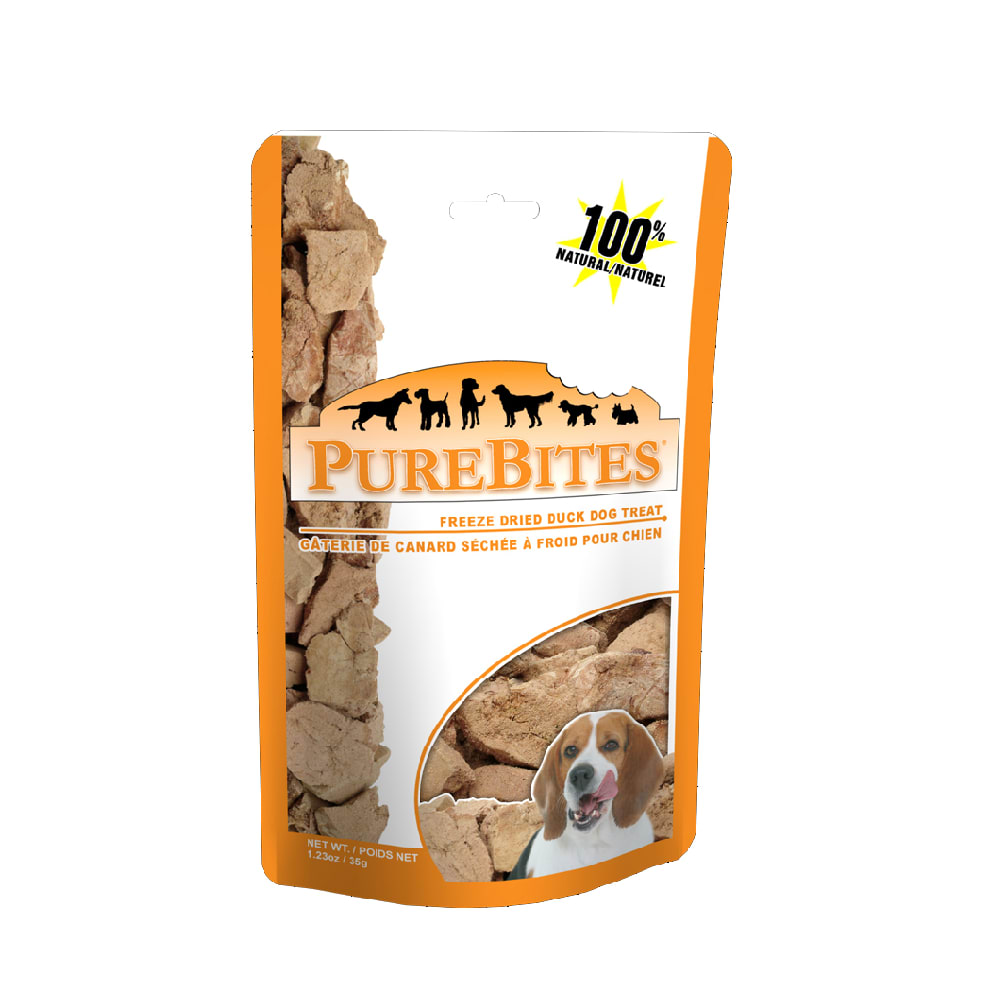PureBites - Freeze-Dried Duck Liver Grain-Free Dog Treats