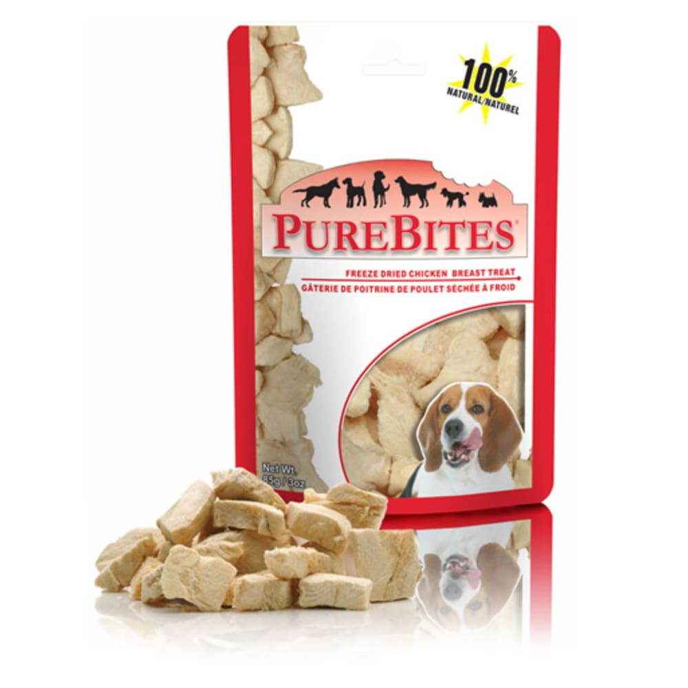 PureBites - Freeze-Dried Chicken Breast Grain-Free Dog Treats