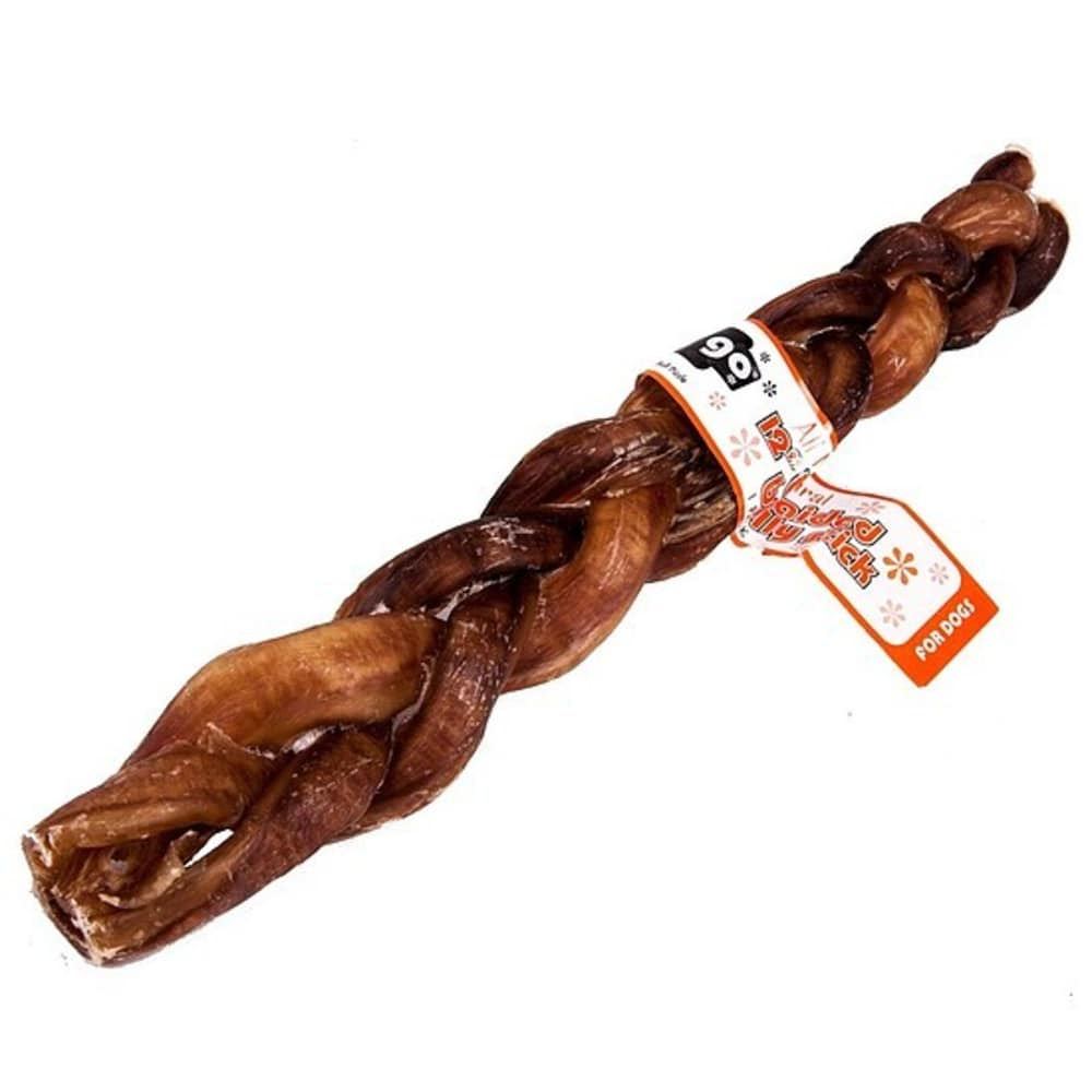 GoGo - Braided Bully Stick Grain-Free Dog Chews