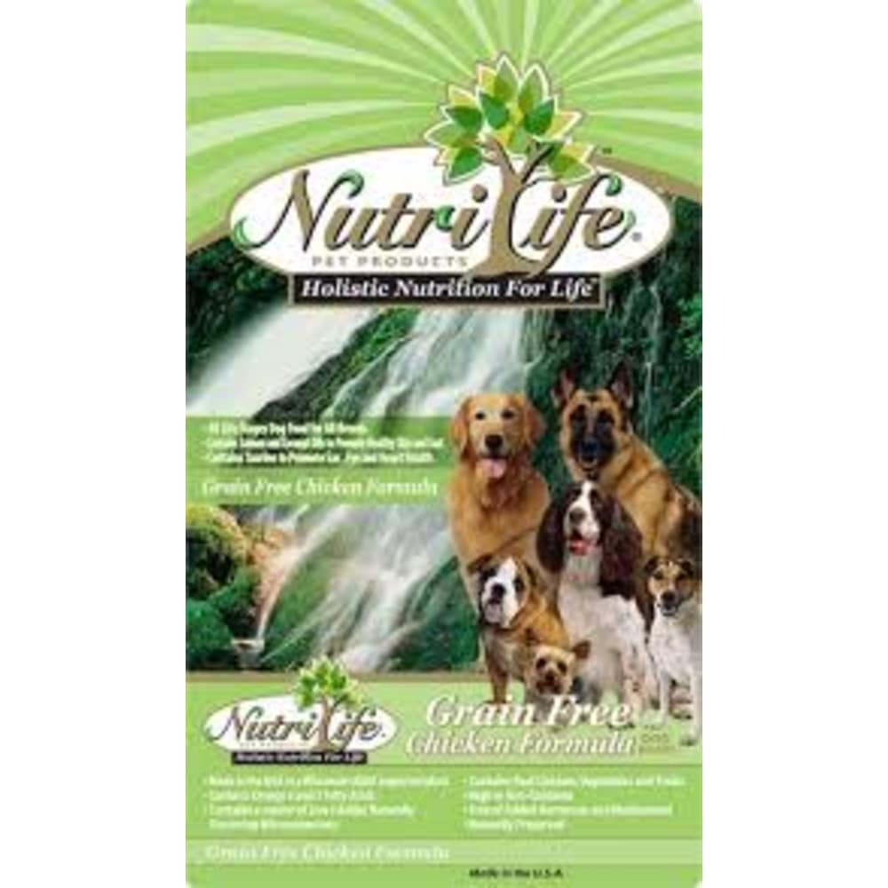 Nutri Life - Chicken Formula Grain-Free Dry Dog Food, 40lb