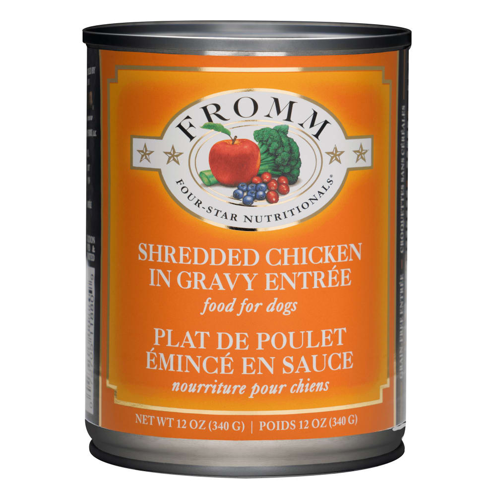 Fromm - Four-Star Shredded Chicken In Gravy Entree Grain-Free Canned Dog Food
