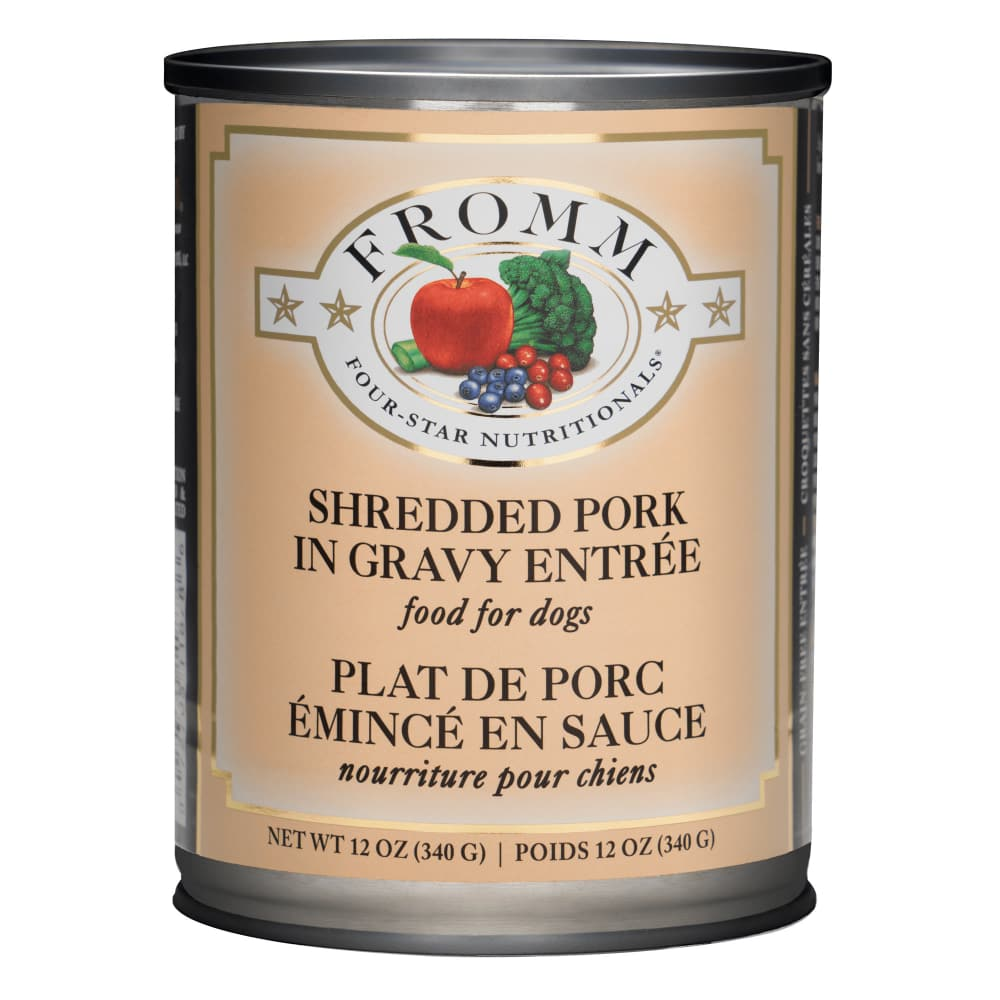 Fromm - Four-Star Shredded Pork In Gravy Entree Grain-Free Canned Dog Food
