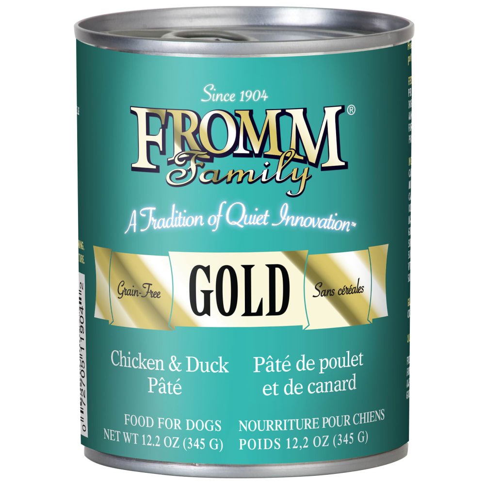 Fromm - Gold Chicken & Duck Pate Grain-Free Canned Dog Food