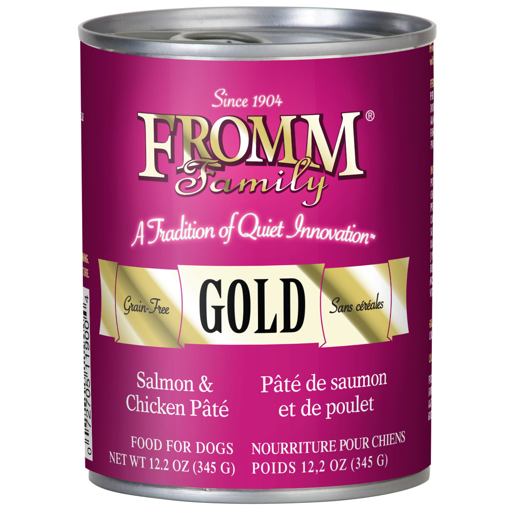 Fromm - Gold Salmon & Chicken Pate Grain-Free Canned Dog Food
