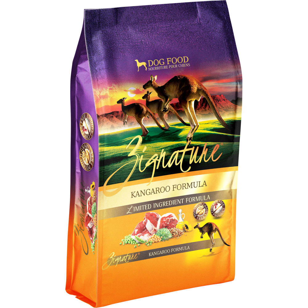 Zignature - Limited Ingredient Kangaroo Formula Grain-Free Dry Dog Food
