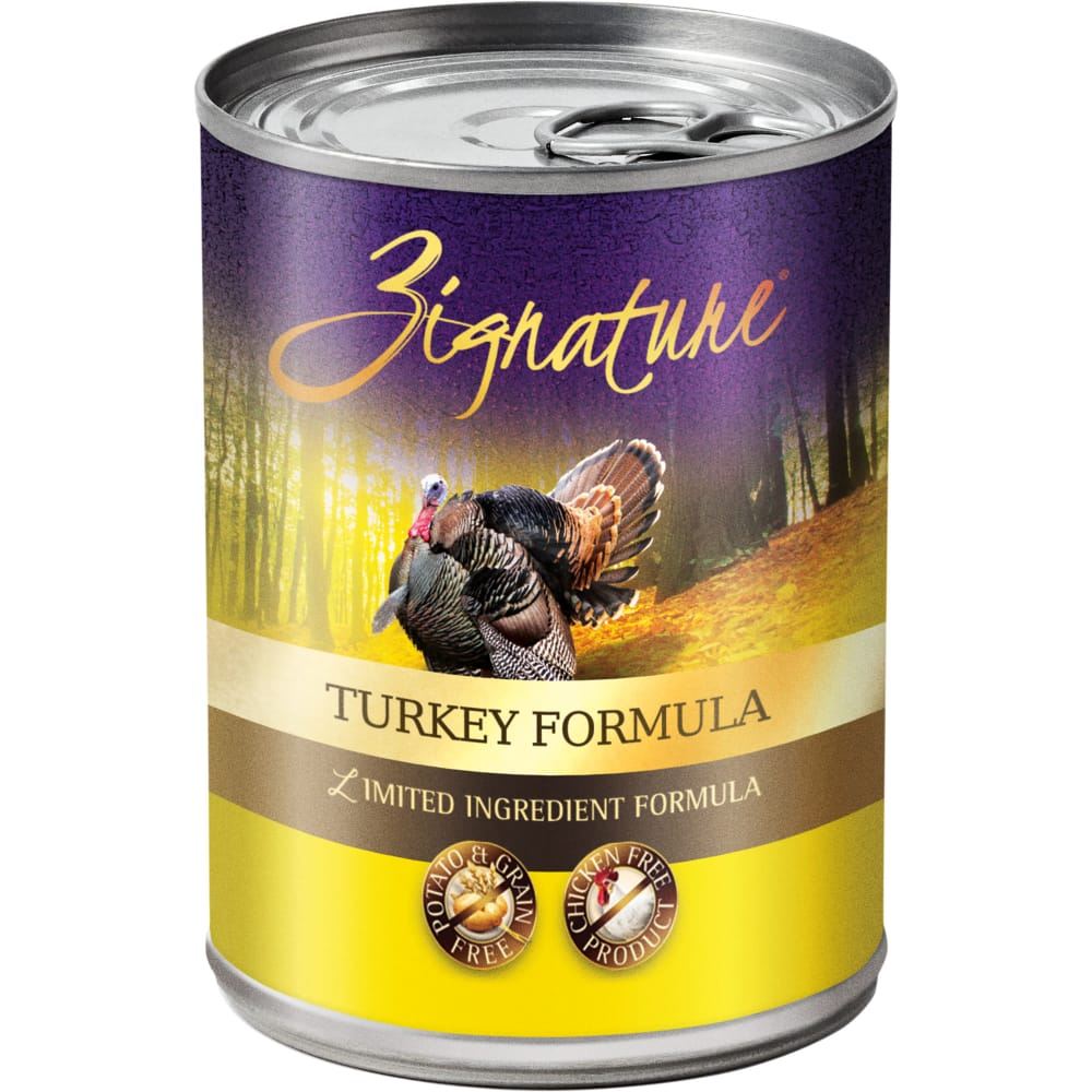 Zignature - Limited Ingredient Turkey Formula Grain-Free Canned Dog Food