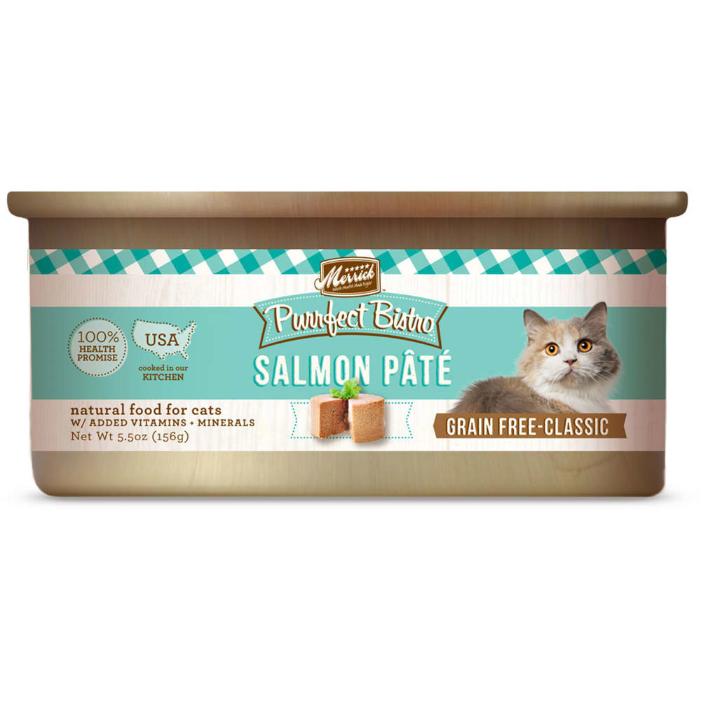 Merrick - Purrfect Bistro Salmon Pate Grain-Free Canned Cat Food
