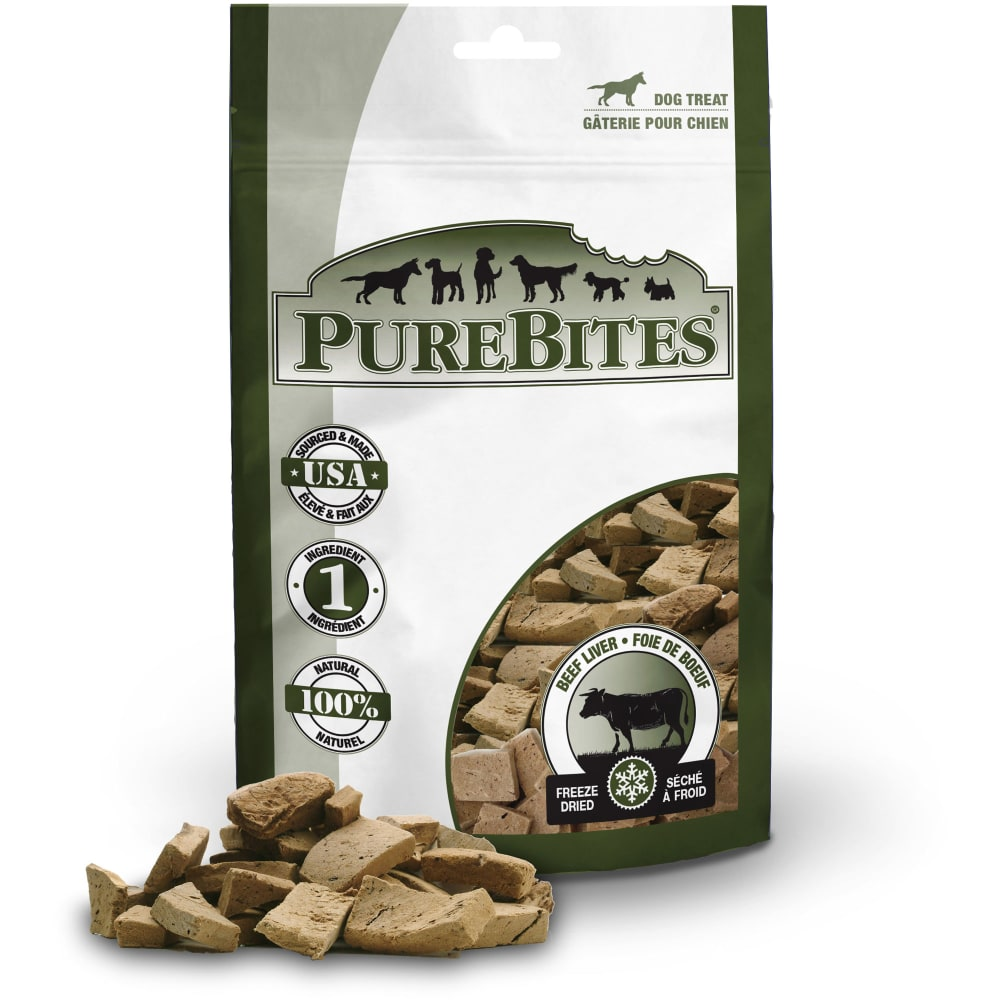 PureBites - Freeze-Dried Beef Liver Grain-Free Dog Treats