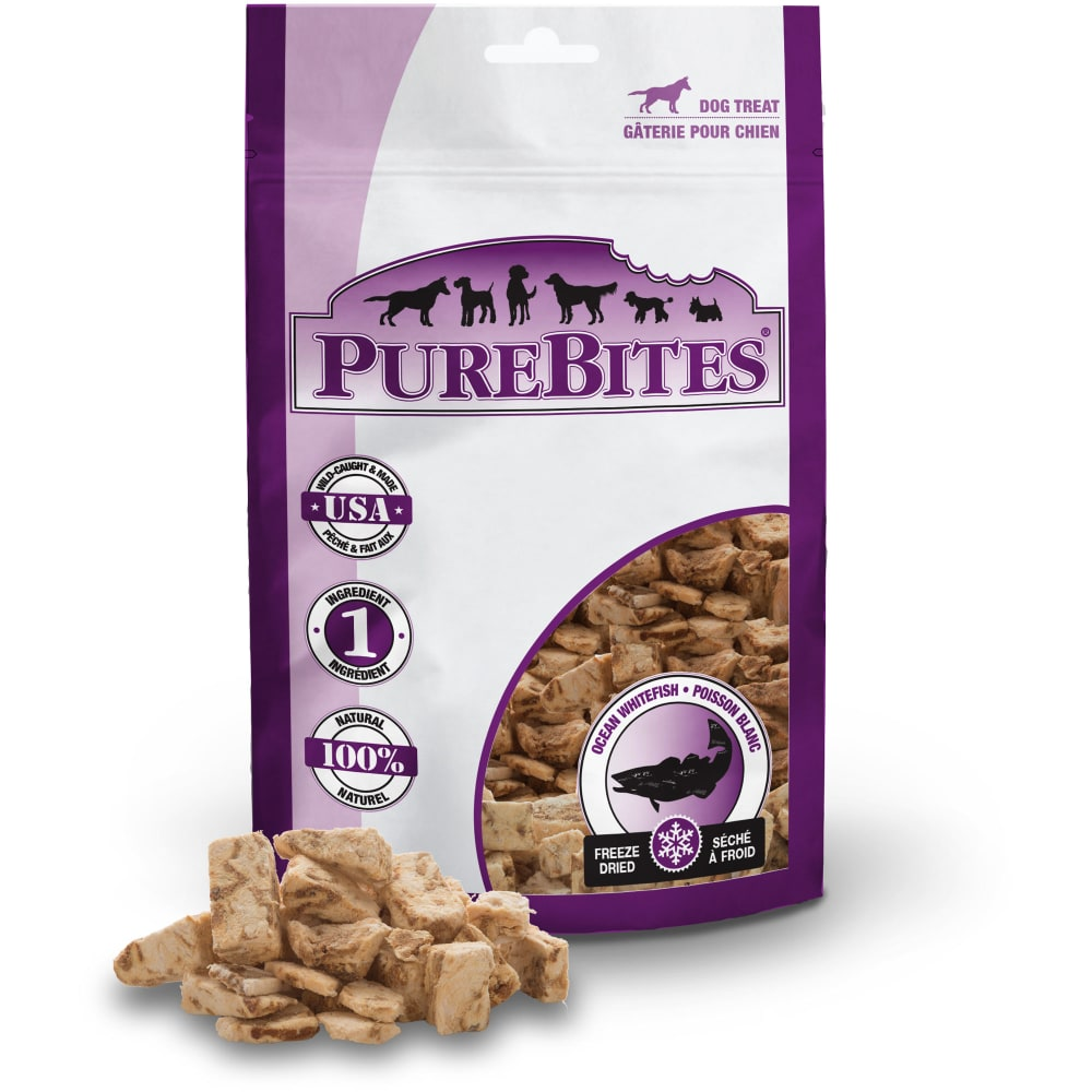 PureBites - Freeze-Dried Ocean Whitefish Grain-Free Dog Treats