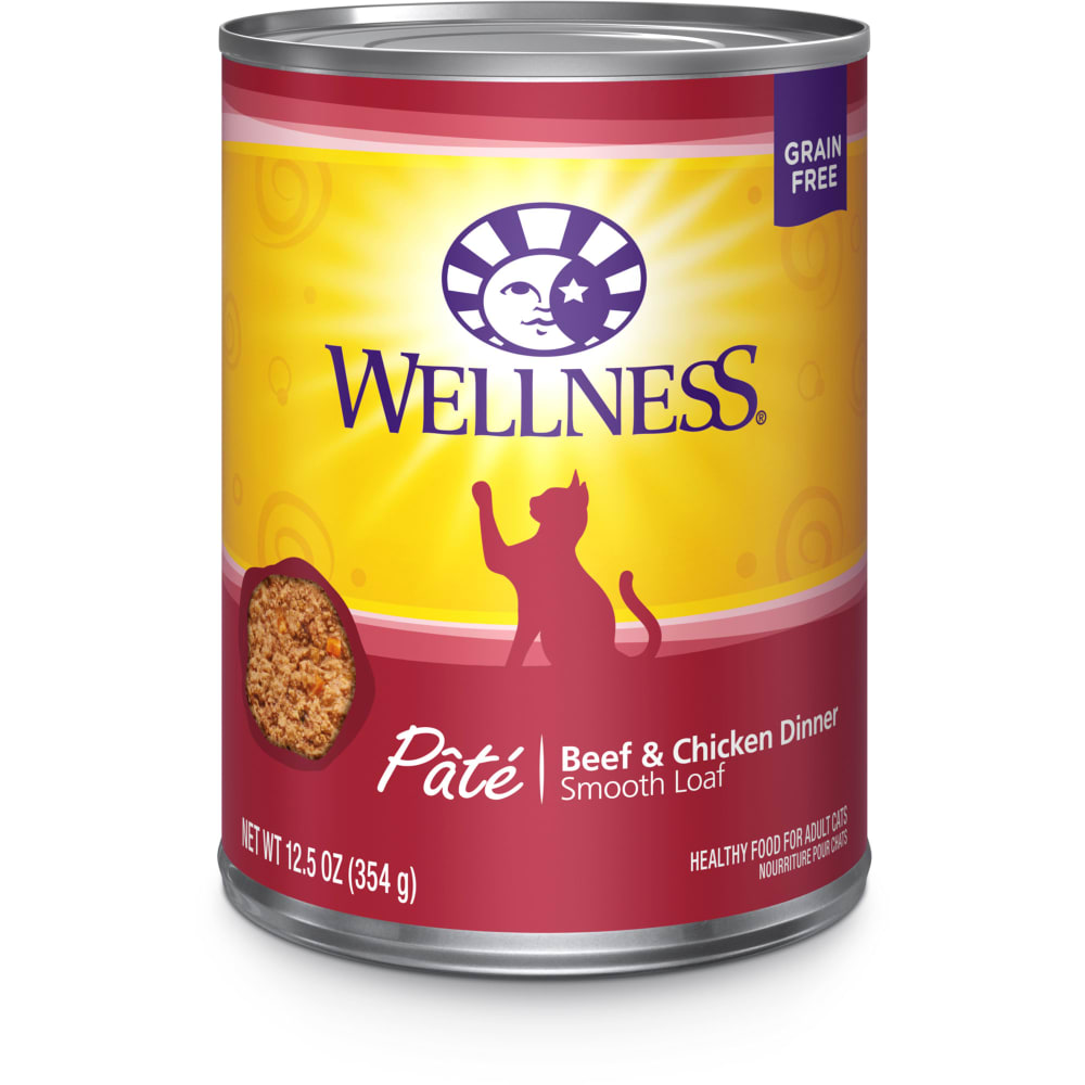 Wellness - Beef & Chicken Formula Grain-Free Canned Cat Food