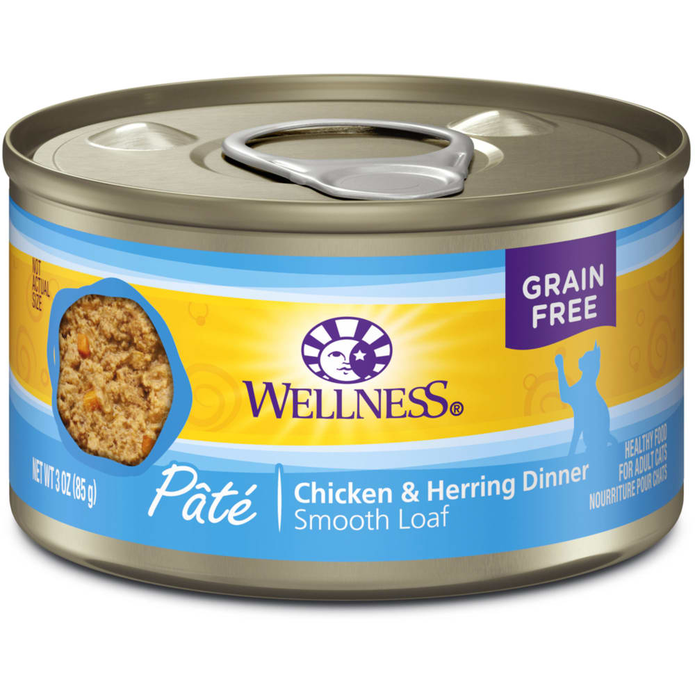 Wellness - Chicken & Herring Formula Grain-Free Canned Cat Food